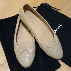 Authentic Chanel ballerinas
